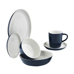 Corningware 6-pc Midnight Dinnerware Set