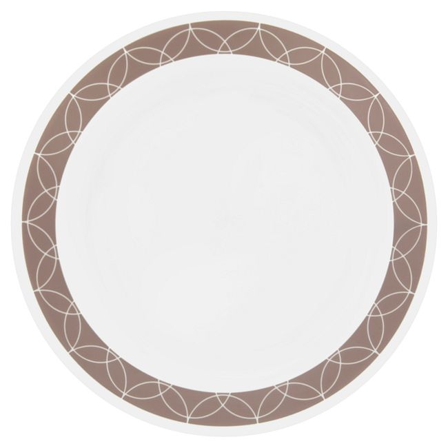 """Livingware Sand Sketch 10.25"""" Plate"""