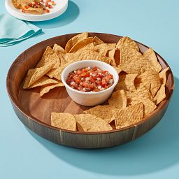 Coordinates Chips and Dip Bowl Set with salsa and torillas