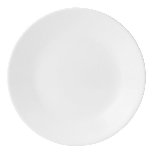 "Winter Frost White 16-piece Dinnerware Set with 10.25"" Dinner Plates, Service for 4"