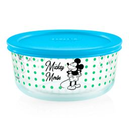 4-cup Pyrex Decorated Storage: Mickey Mouse