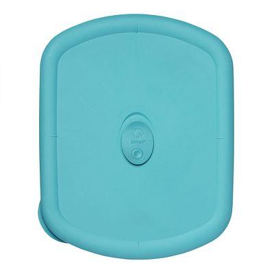 Pyrex Pro 3-Qt Rectangular Vented Plastic Lid, Turquoise