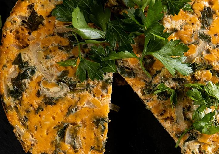 Cheddar-Herbed Strata