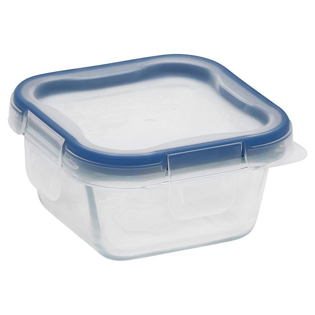 Total Solution Pyrex Glass Food Storage 1 Cup, Square