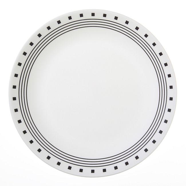 "City Block 10.25"" Dinner Plate"