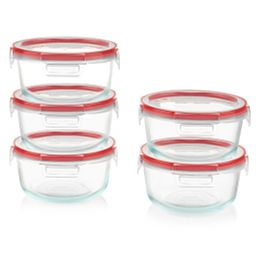 Freshlock™ 10-piece 4-cup Glass Meal Prep Set