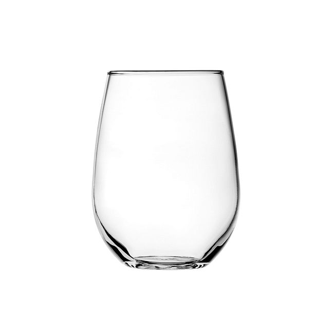 Vienna 15-ounce Stemless White Wine Glass Set, 4-pack