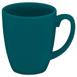 Livingware™ 11-oz Stoneware Mug  Turquoise