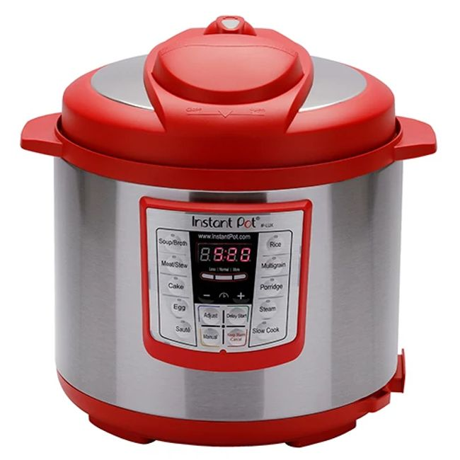 Instant Pot® Lux™ 6-quart Multi-Use Pressure Cooker, Red