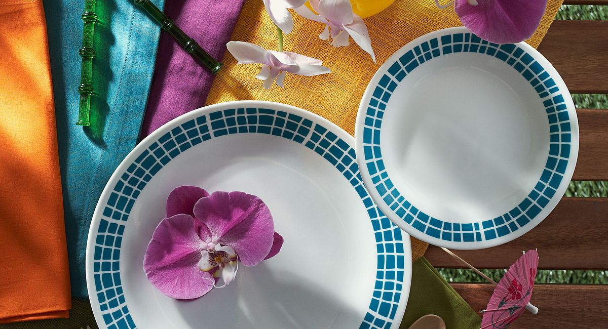 Pattern of the Month: Aqua Tiles