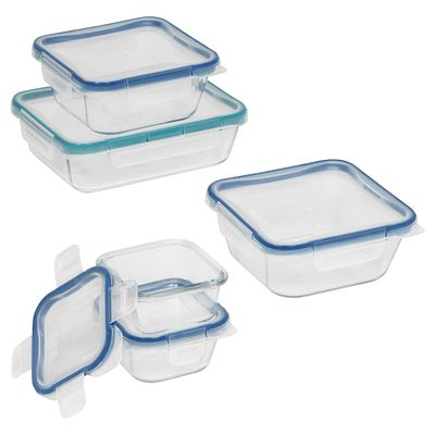 Snapware Total Solution Pyrex Glass Food Storage 10-Pc Set