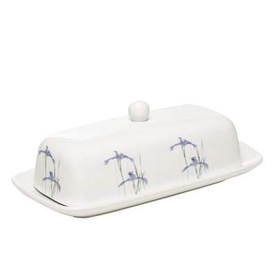 Butter Dish Coordinates W/ Corelle Shadow Iris