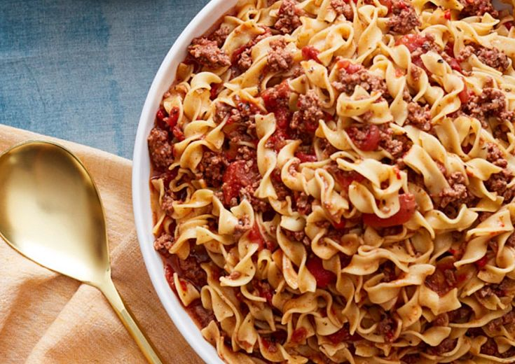Ground Beef and Noodle Goulash in Instant Pot