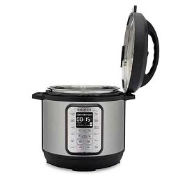 Instant Pot® Duo™ Plus 8-quart Multi-Use Pressure Cooker Version 3 side view with lid up