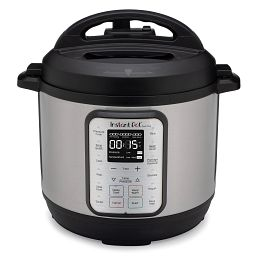 Instant Pot® Duo™ Plus 6-qt Multi-Use Pressure Cooker Version 3 front view