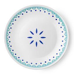 "Livingware™ Santorini Sky 8.5"" Plate"