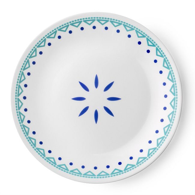 """Santorini Sky 8.5"""" Salad Plate"""