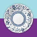 """Artemis 8.5"""" Salad Plates, 6-pack"""
