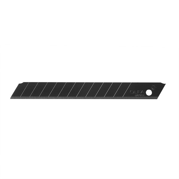 9mm Precision Ultra-Sharp Black Snap-off Blades, 50 pack (ABB-50B)