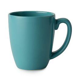 Livingware™ 11-oz Teal Stoneware Mug, Santorini Sky