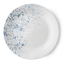 "Vive Indigo Speckle 8.5"" Plate"