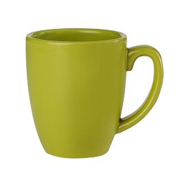 Livingware™ 11-oz Stoneware Mug  Yellow Green