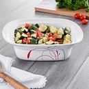 Splendor 1-quart Square Casserole