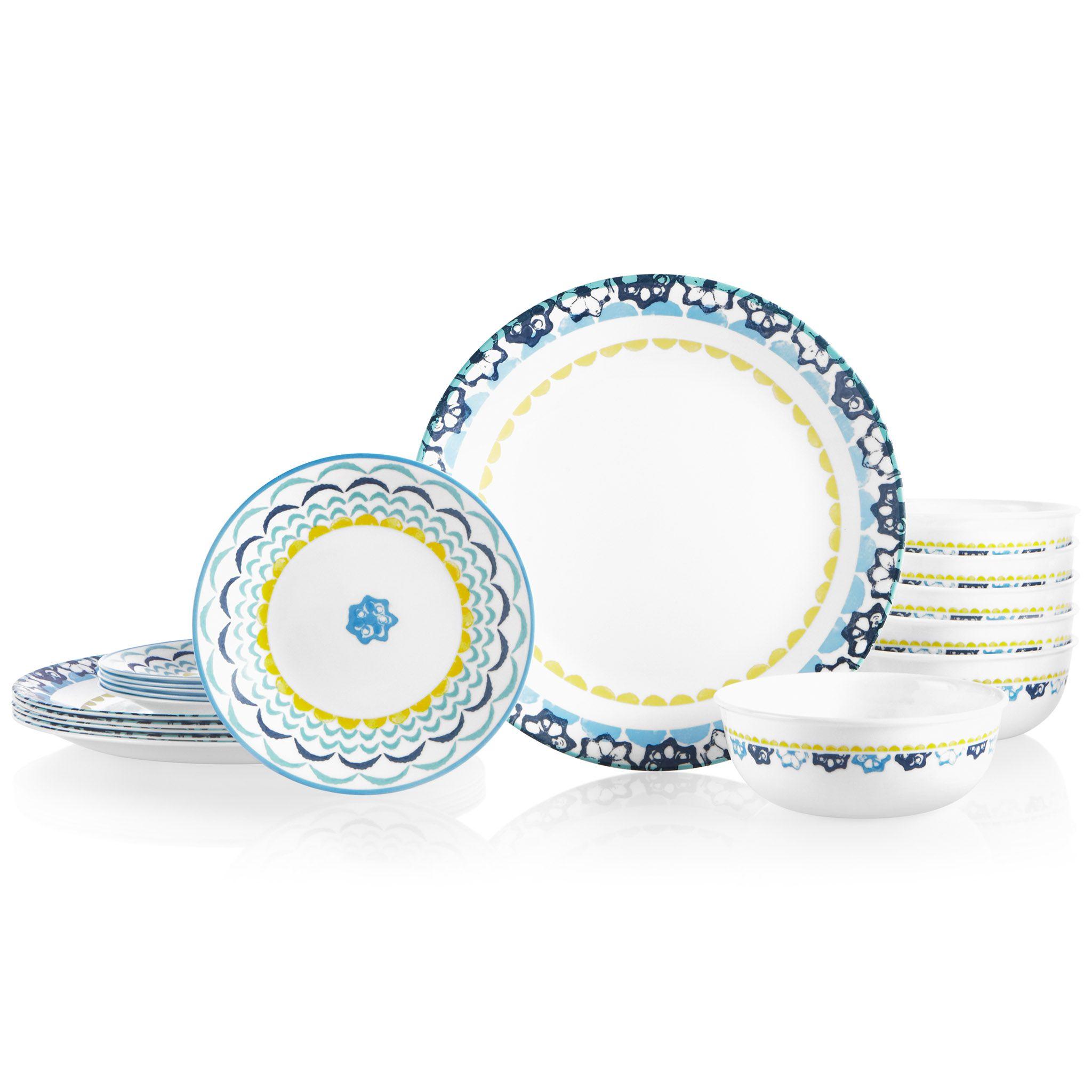 Boho Daydream 18-piece Dinnerware Set, Service for 6