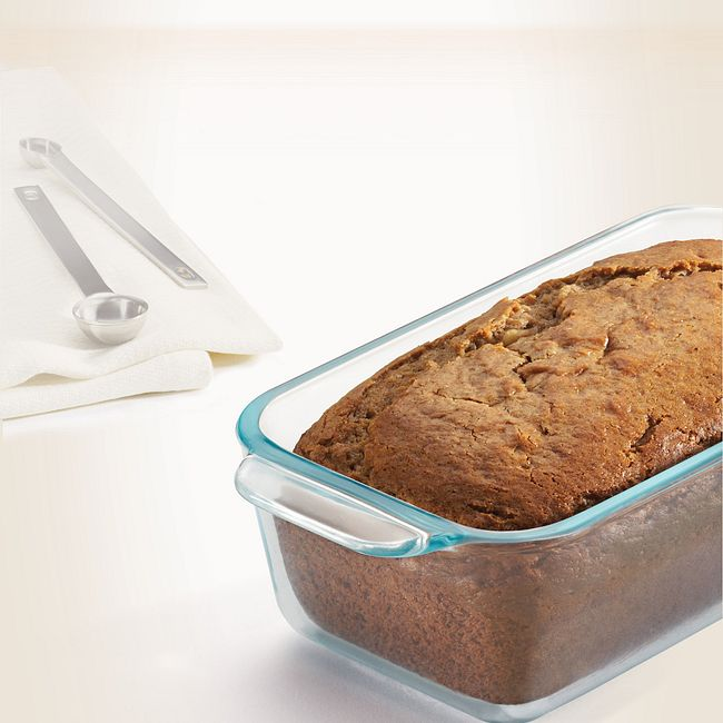 1.5-quart Glass Loaf Pan