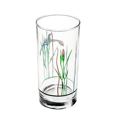 Corelle Shadow Iris 16-ounce Drinking Glass