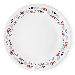 """Livingware Harbor Town 6.75"""" Plate"""