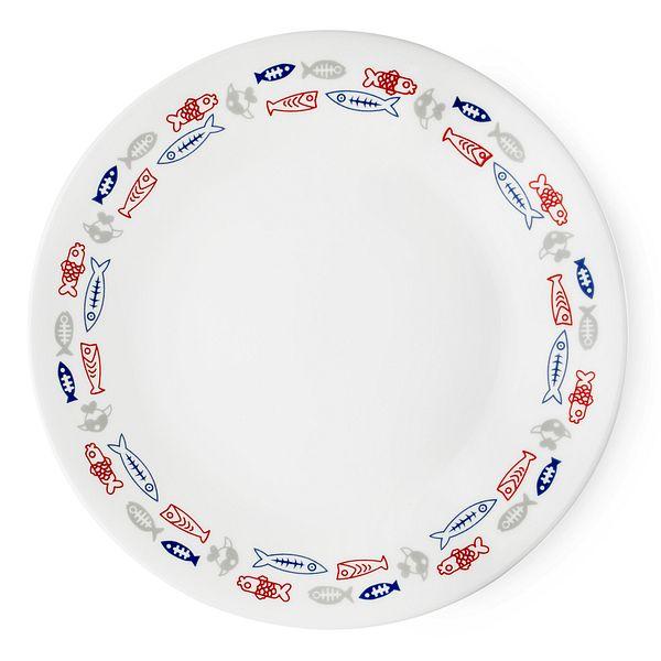 Corelle_Harbor_Town_675_Appetizer_Plate