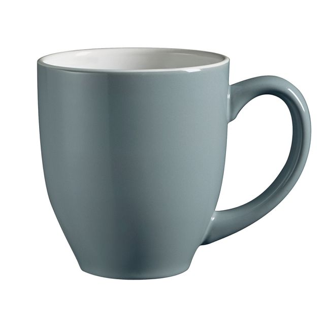 Urban Grid 13-ounce Gray Mug