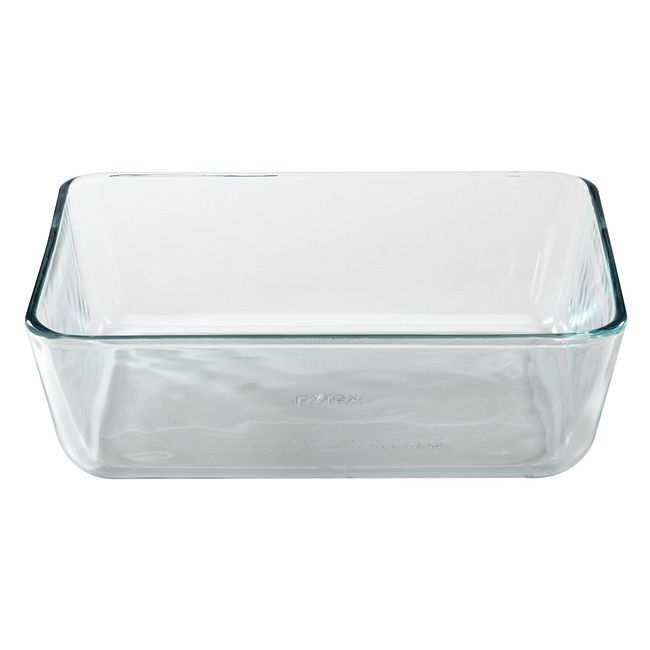 11-cup Rectangular Glass Food Storage Container