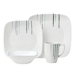 Square™ Rain Drops 16-pc Dinnerware Set