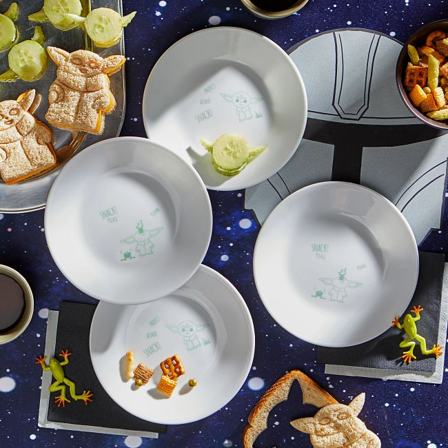 "6.75"" Appetizer Plate: Star Wars™ - The Child,  4-pack"