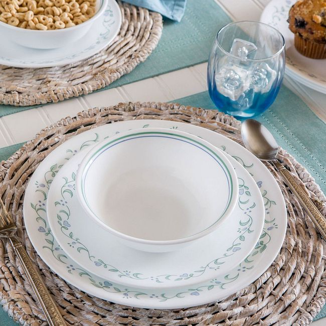 Country Cottage 12-piece Dinnerware Set, Service for 4
