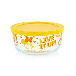 Minnie Mouse Live it up Decorated Storage Container with Lid