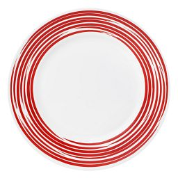 Boutique™ Brushed Red Dinner Plate