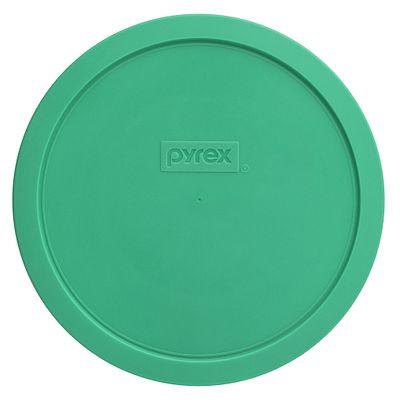 Pyrex 1.5-Qt Round Plastic Lid, Pale Green