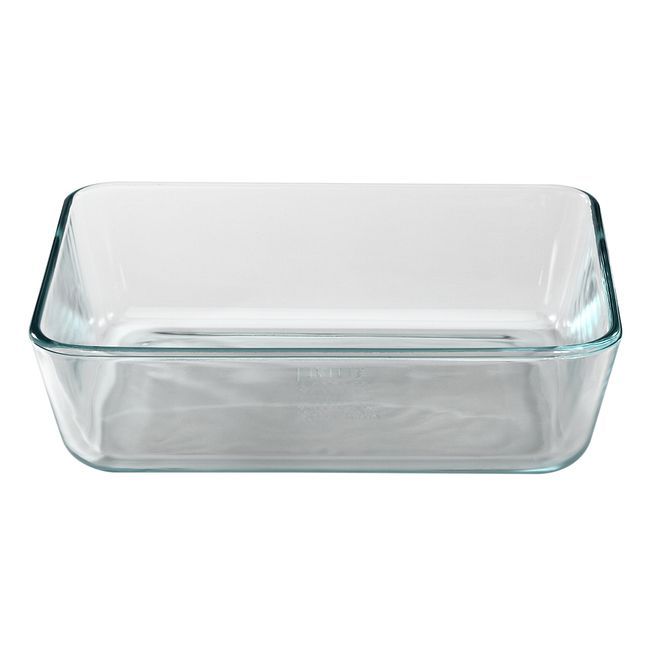6-cup Rectangular Glass Food Storage Container