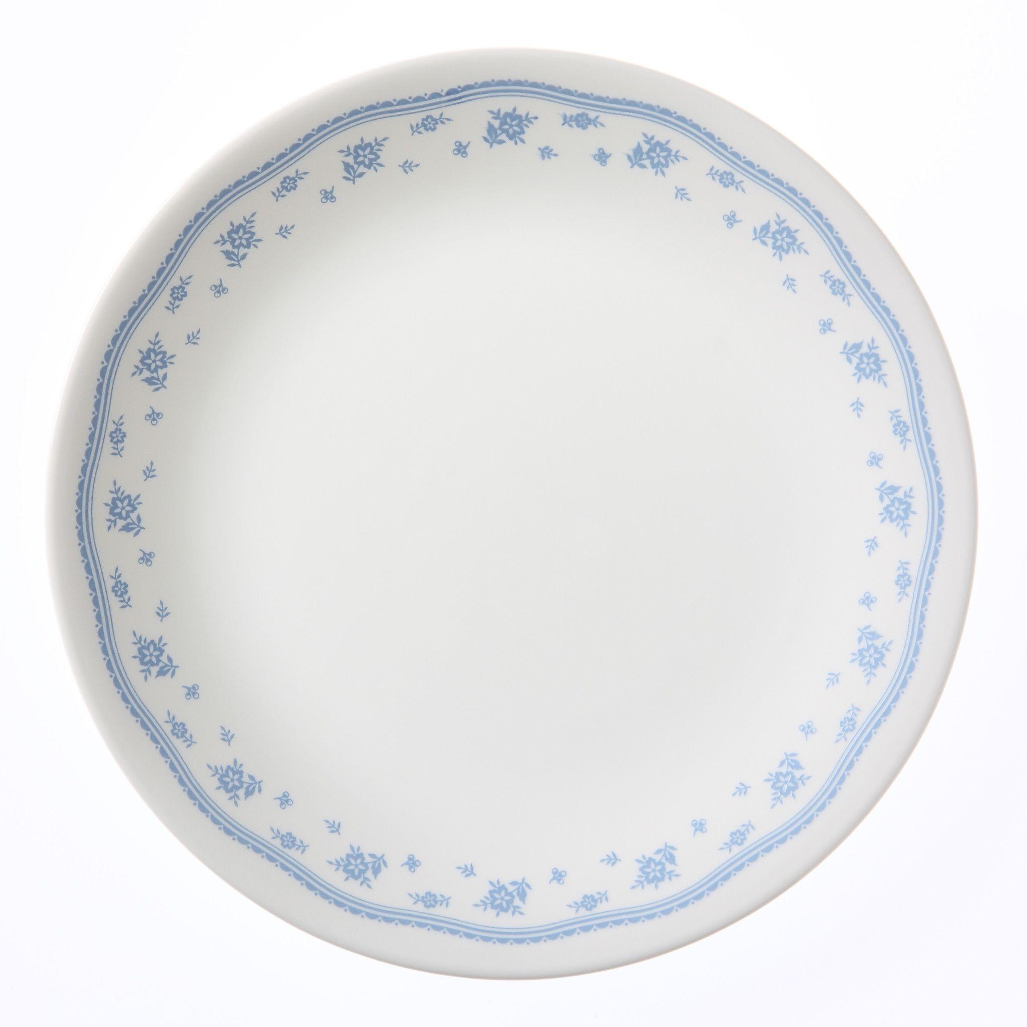 """Corelle Livingware Morning Blue 8.5"""" Plate"""