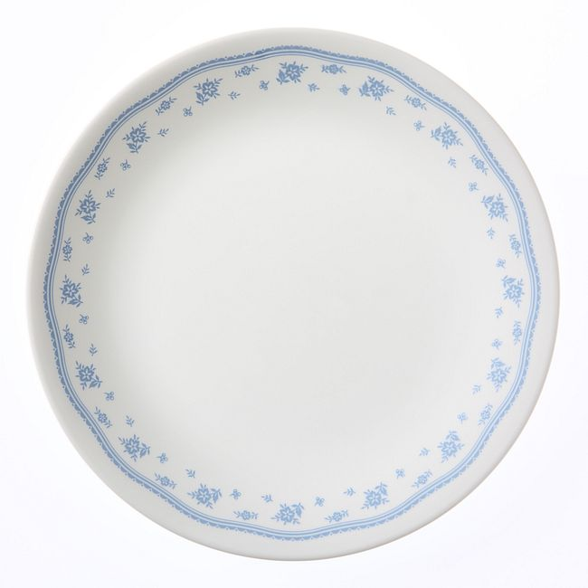 "Morning Blue 8.5"" Salad Plate"