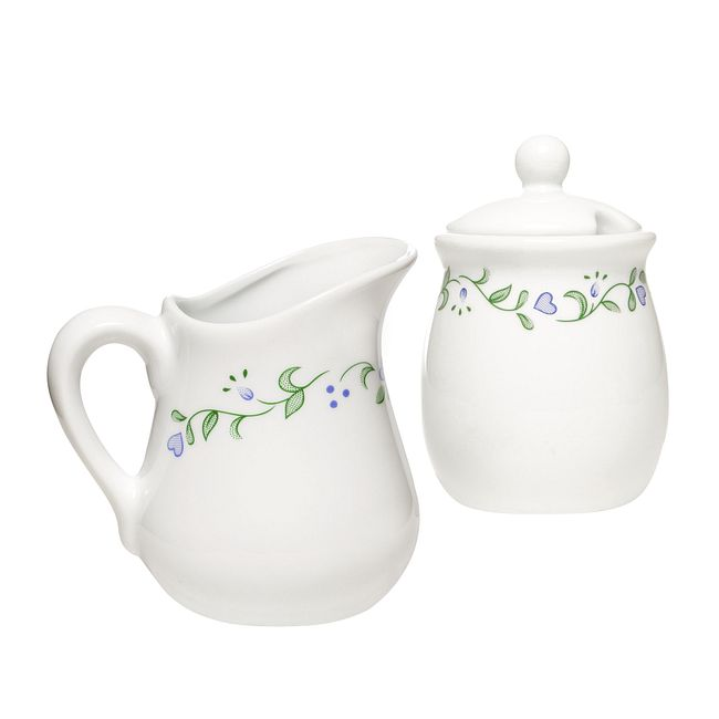 Country Cottage Sugar & Creamer Set