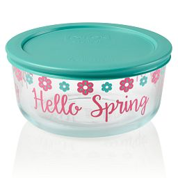 Simply Store 4 cup Spring Storage Dish with Lid On