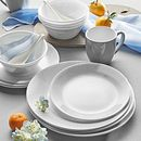 Woven Lines 16-piece Dinnerware Set, Service for 4