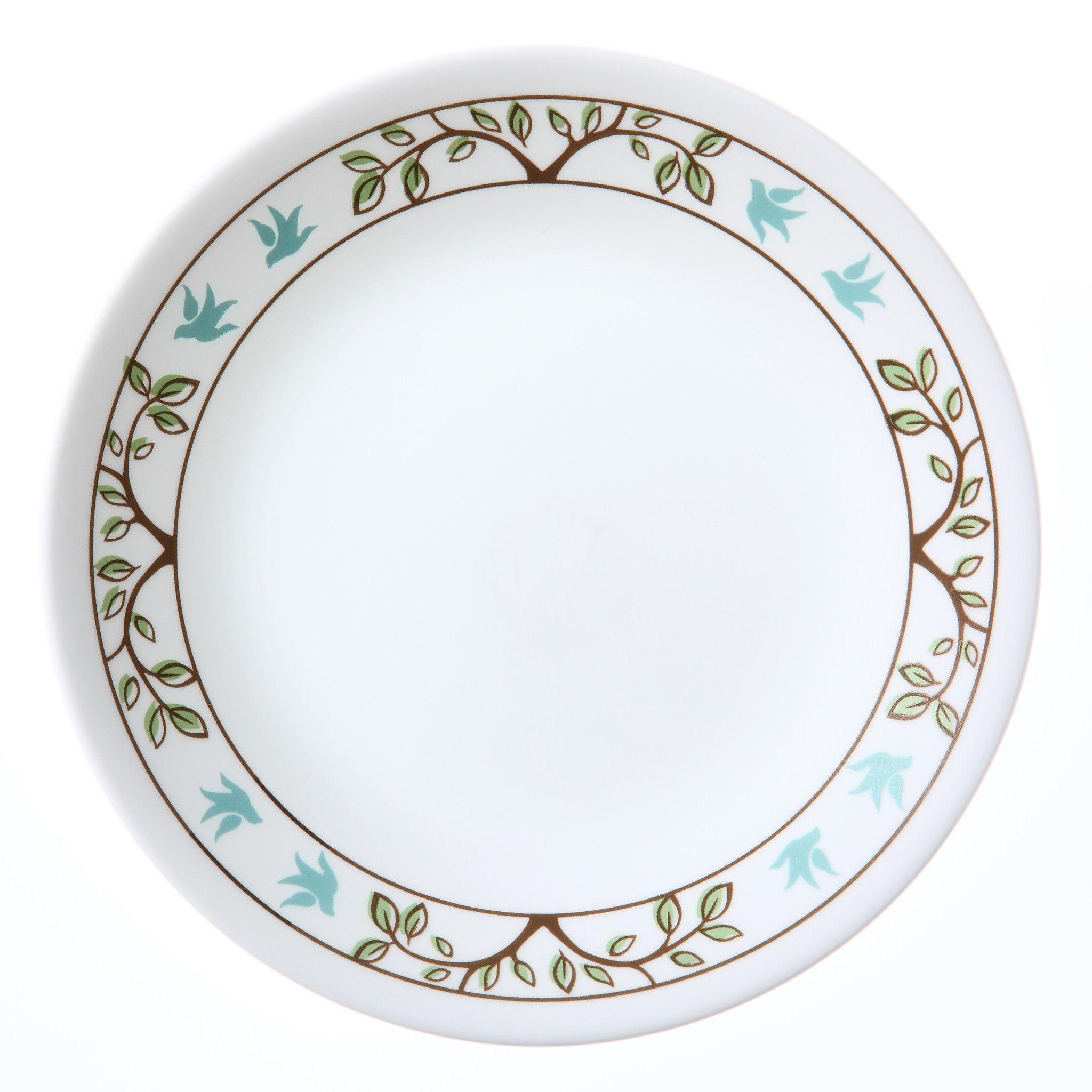 Corelle_Livingware_Tree_Bird_675_Plate