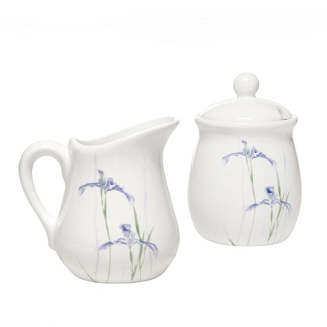 Shadow Iris Sugar & Creamer Set