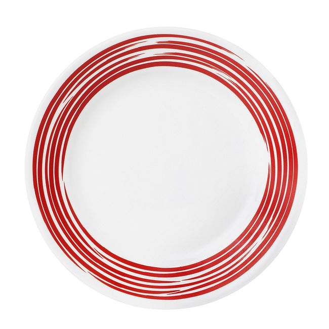 Brushed Red 16-piece Dinnerware Set, Service for 4