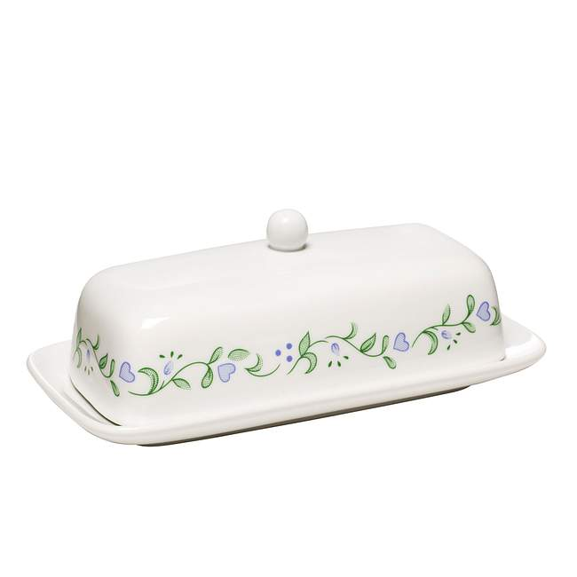 Country Cottage Butter Dish